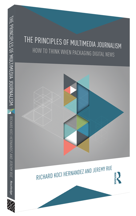Cover of the book Principles of Multimedia Journalism